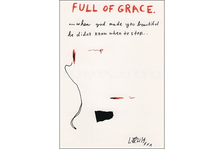 Art Postcard - Full of Grace