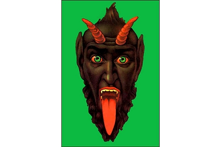 Krampus Devil Postcard