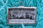 Who Dosen't Belong in This Picture Handmade Pendant