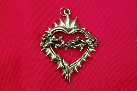 Large Crown of Thorns Pendant