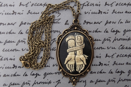 Je Ne Regrette Rien (No Regrets) Pendant or Necklace