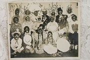 Vintage Varnished Blackface Photograph (Insensitive Photograph for Collectors)