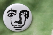 Button Pin - Salvador Dali