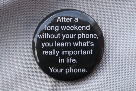 Your Phone - Pinback Button