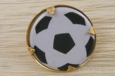 Vintage Novelty Soccer Ball Pin