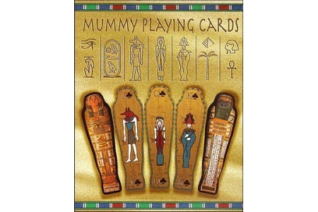 Rare Die-Cut Mummy Double Deck Playing Cards