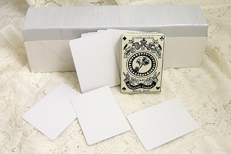 Blank Playing Cards or Artist Trading Cards - Box of 975+ Cards