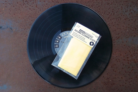 Vinyl Record Cleaning Cloth