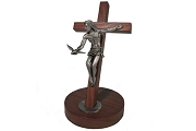 Gift of the Holy Spirit Dove Crucifix for Table or Wall