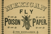 Vintage Mexican Fly Poison Paper Directions Sheet - Hilarious - Must Read!