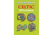 Shiny Metallic Celtic Stickers