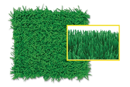 Green Turf Grass Tissue Runner