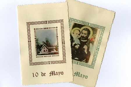 Vintage Latin Photo Card