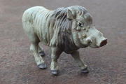 New Old Stock Vintage Miniature Hand Painted Warthog