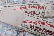 Vintage Package of Hamersley's Continuous Roll of Waxed Paper