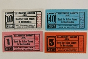 Vintage Allegheny County Jail Merchandise Coupon or Ticket for the Canteen