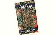 Silvery Antique-y Tinsel Garland - 9 ft