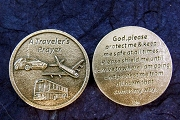 A Traveler's Prayer Pocket Token