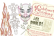 Old Fashioned Iron-On Transfers - El Diablo