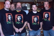 Revolutionary Che Guavera on Black Tee Shirt