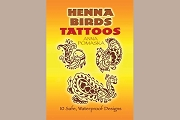 Temporary Tattoos - Henna Birds