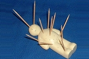 OUCH! The Voodoo Toothpick Holder