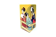 Sturdy Japanese Rice Paper Wallet Featuring Geisha Prints