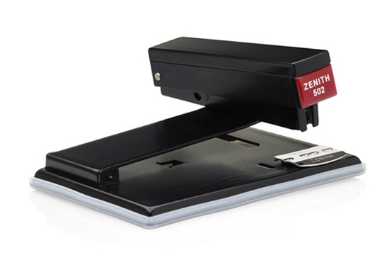 Zenith 502 Lawyers Black Stapler 3 Ways to Staple