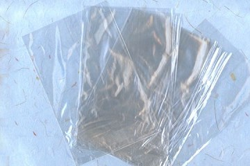 Package of 10 REAL Cellophane Bags (4x6 inch flat)