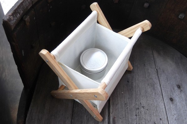 Small Folding Knitting Basket