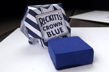 Reckitt's Crown Blue Square (Cuadrito de Añil)  *Discontinued* Factory Closed