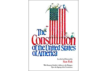 The Constitution of the United States of America - Highly Illustrated Oversized Book