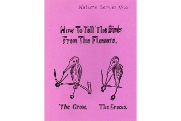 How to Tell the Birds from the Flowers - facsimile of USA original publication, 1907
