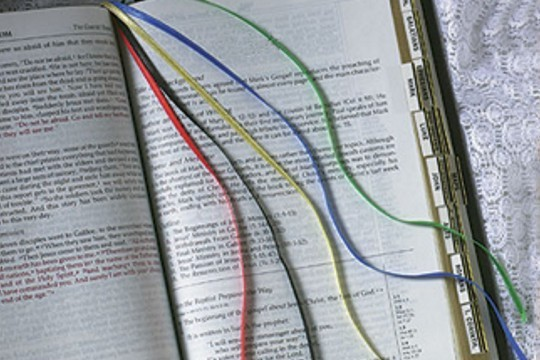 Multi-Ribbon Bookmark