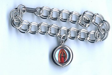 Exclusive Our Lady of Guadalupe Charm Bracelet