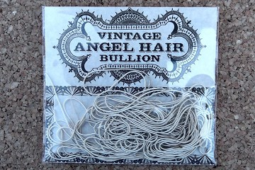 Vintage Slim Silver Angel Hair Bullion