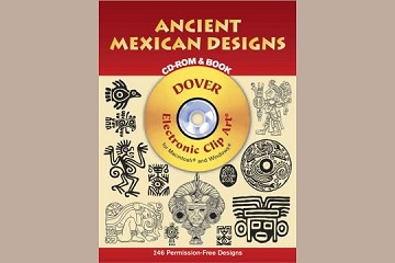 Old-Time Ancient Mexican Designs CD-ROM and Book