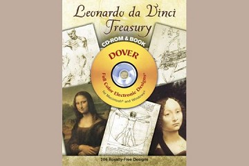 Leonardo da Vinci Treasury CD-ROM and Book