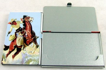 Cowboy Personal Case for Credit Cards and Business Cards