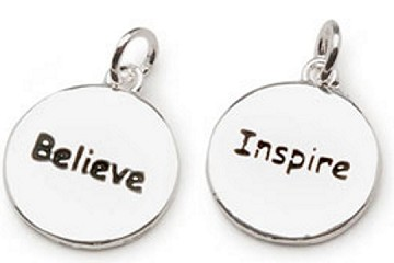 Belive and Inspire Reversible Charm