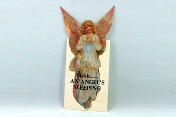 Angel's Sleeping Door Hanger