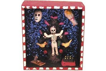 Day of the Dead Diorama - Tree of Life and Death (Small)