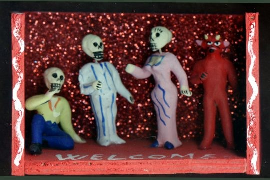 Welcome to Hell Day of the Dead Diorama
