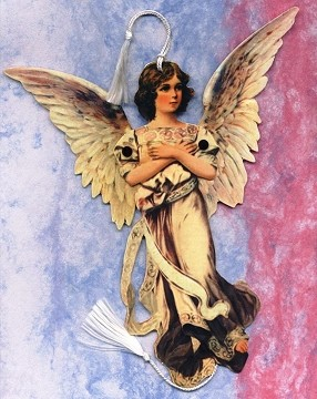Glorious Die Cut Angel with Movable Wings