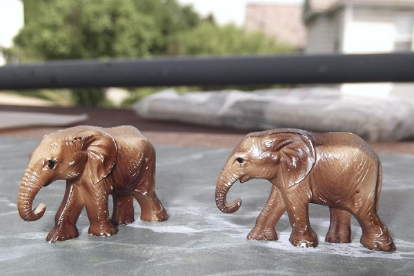 Vintage Miniature Elephant - Your Choice of Size