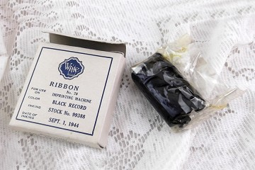 Vintage Write Ribbon for No. 70 Impriting Machine