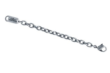 Classic Hardware 3-Inch Silver Plated Extender Chain for Necklaces