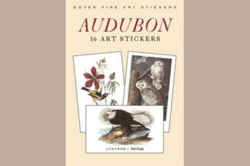 Fine Art Stickers - Audubon..Book of 16 full-color acid-free stickers