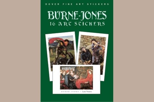Fine Art Stickers: Burne-Jones