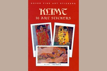 Fine Art Stickers: Gustav Klimt